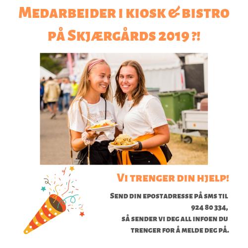 Medarbeider i Kiosk & Bistro på årets Skjærgårds?!